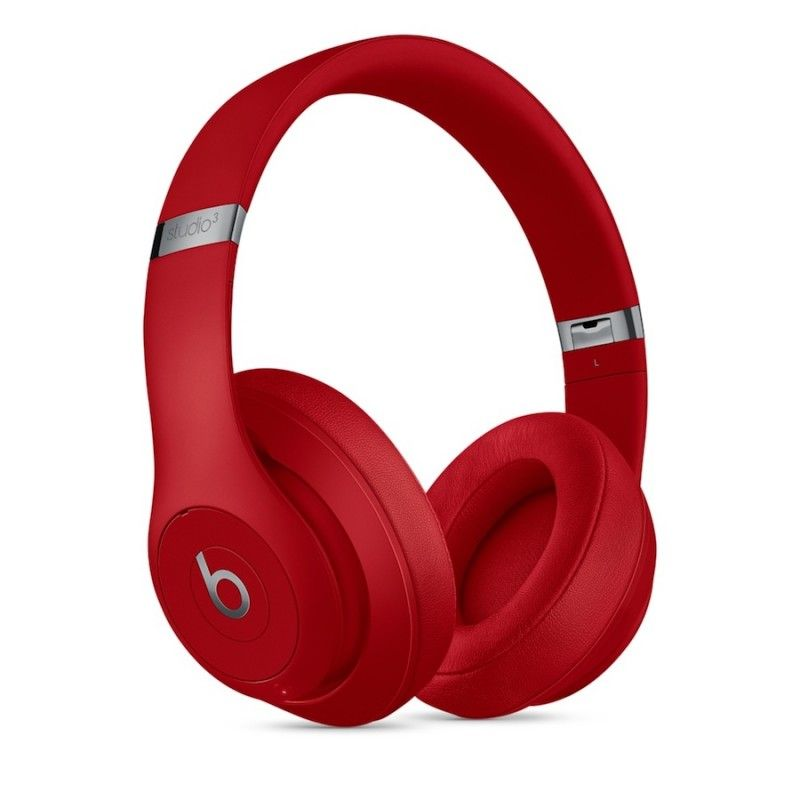Auscultadores Beats Studio3 Wireless Over-Ear - Vermelho