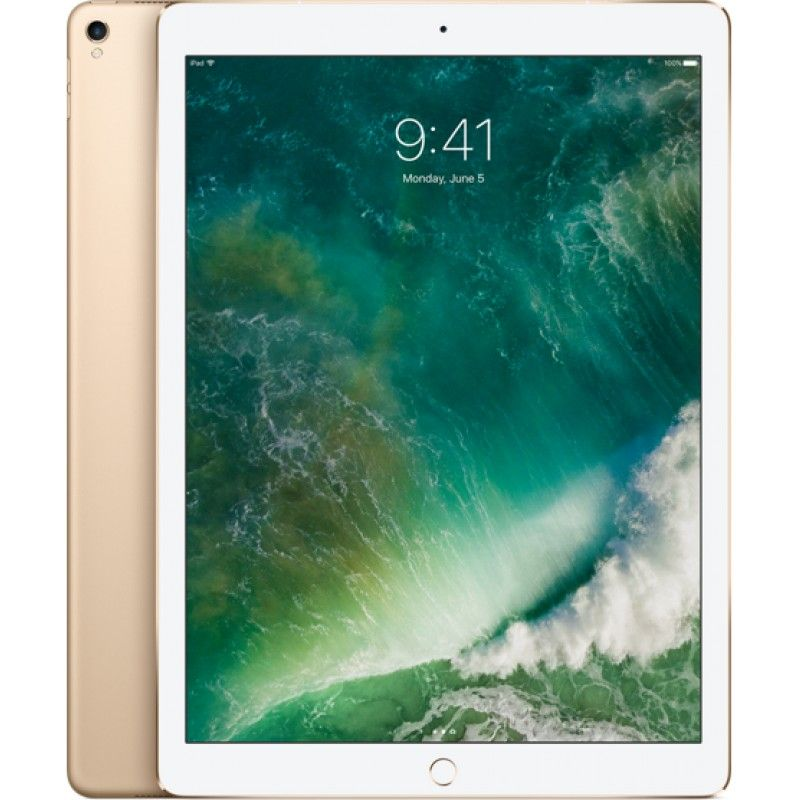 "iPad Pro 12.9"" Wi-Fi + Cellular 64GB (2nd gen)- Dourado"