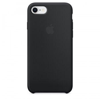 Capa em silicone para iPhone 8 / 7 - Preto