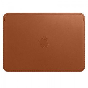 """Pasta em pele para MacBook de 12"""" - Castanho-sela"""