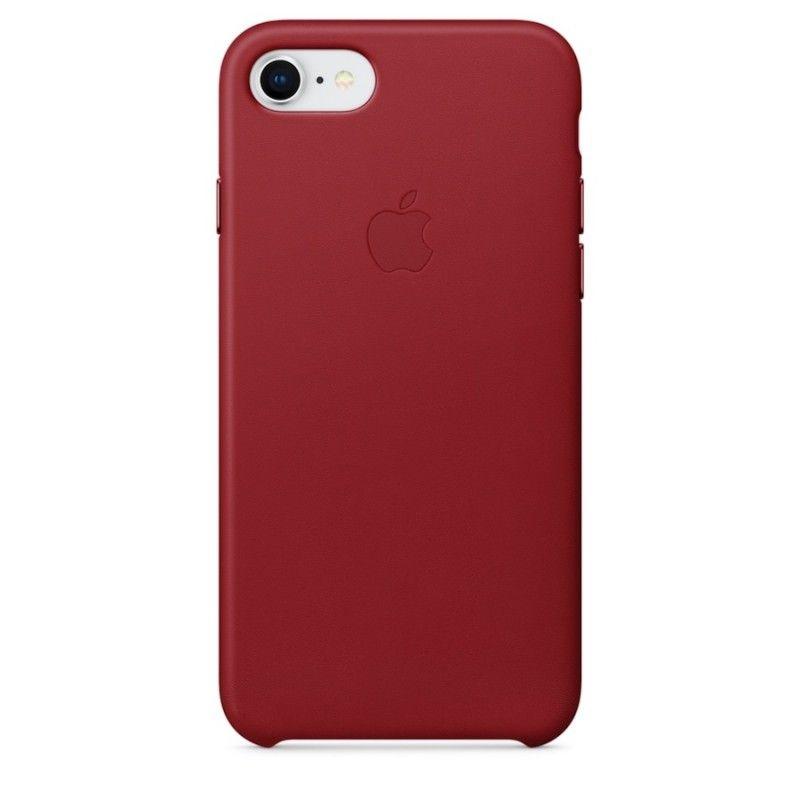 Capa em pele para iPhone 8 / 7 - (PRODUCT)RED