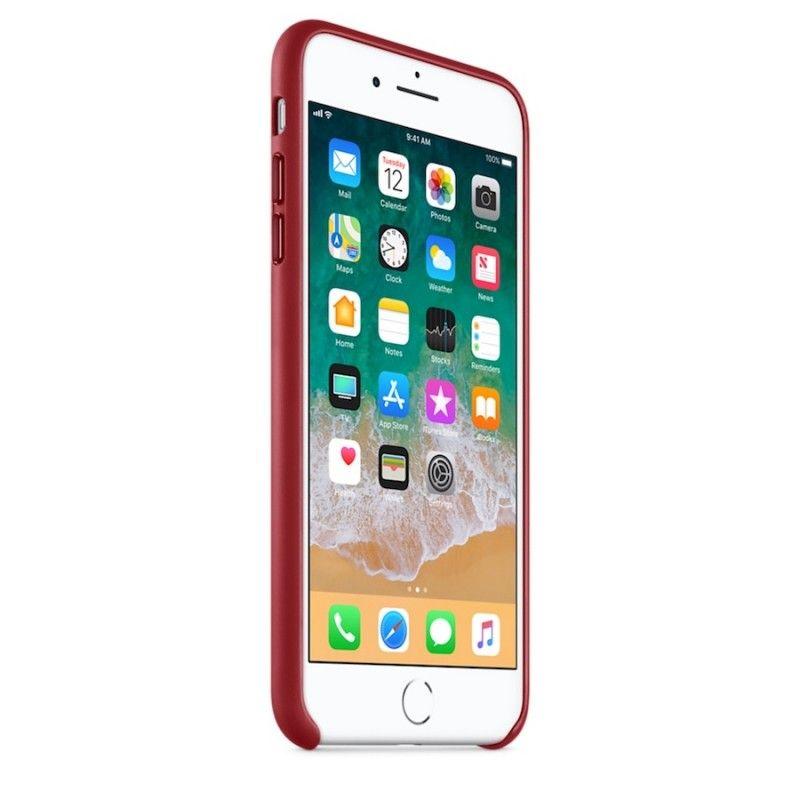 Capa em pele para iPhone 8 Plus / 7 Plus - (PRODUCT)RED
