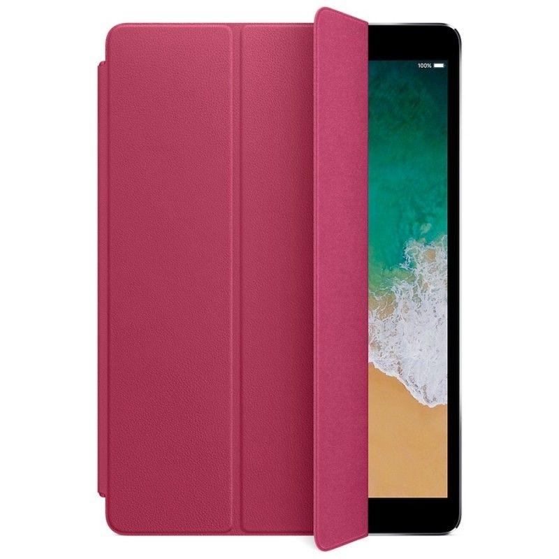 "Capa Smart Cover em pele para iPad Pro de 10,5""- Rosa-fucsia"