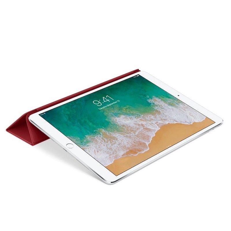 "Capa Smart Cover em pele para iPad Pro de 10,5""- (PRODUCT)RED"