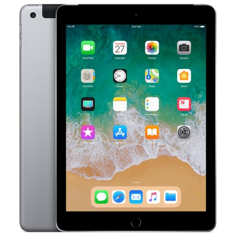 iPad Wi-Fi + Cellular 32GB - Cinzento Sideral