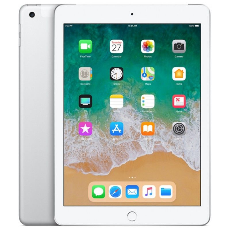 iPad Wi-Fi + Cellular 128GB - Prateado