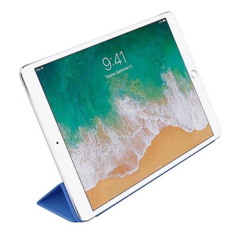 """Capa Smart Cover em pele para iPad Pro de 10,5""""- Azul-elétrico"""