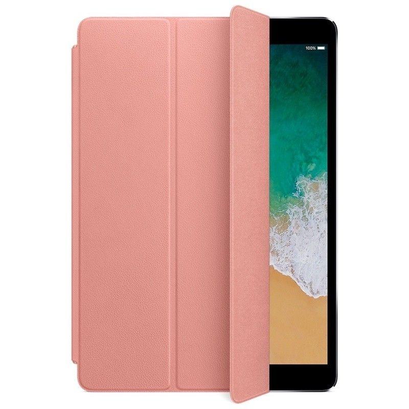"""Capa Smart Cover em pele para iPad Pro de 10,5""""- Rosa-pálido"""