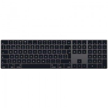 Magic Keyboard com teclado numérico - Português - Cinzento sideral