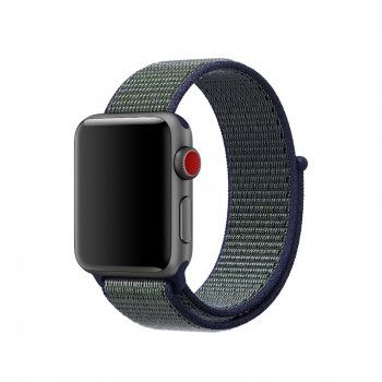 Bracelete Loop desportiva Nike para Apple Watch (40/38 mm) - Midnight Fog