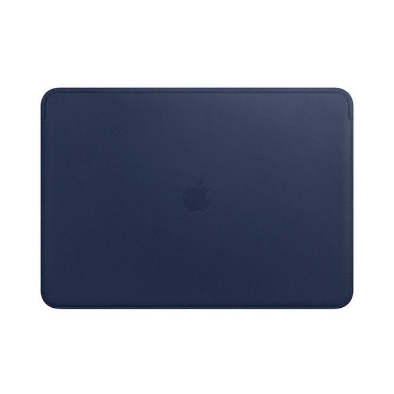 Pasta em pele para MacBook Pro de 15 polegadas - Azul meia-noite