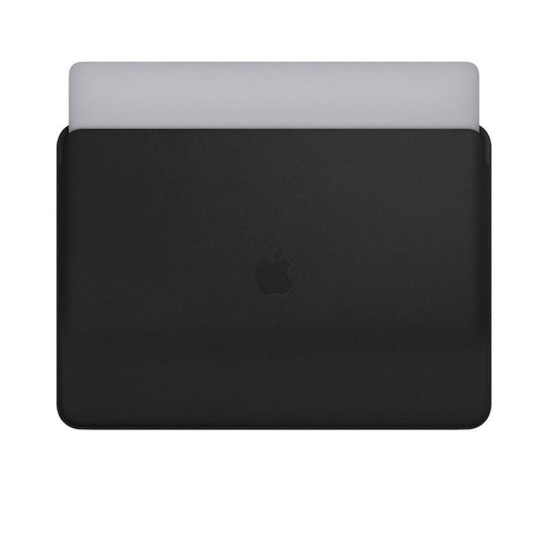 Pasta em pele para MacBook Pro de 15 polegadas - Preto