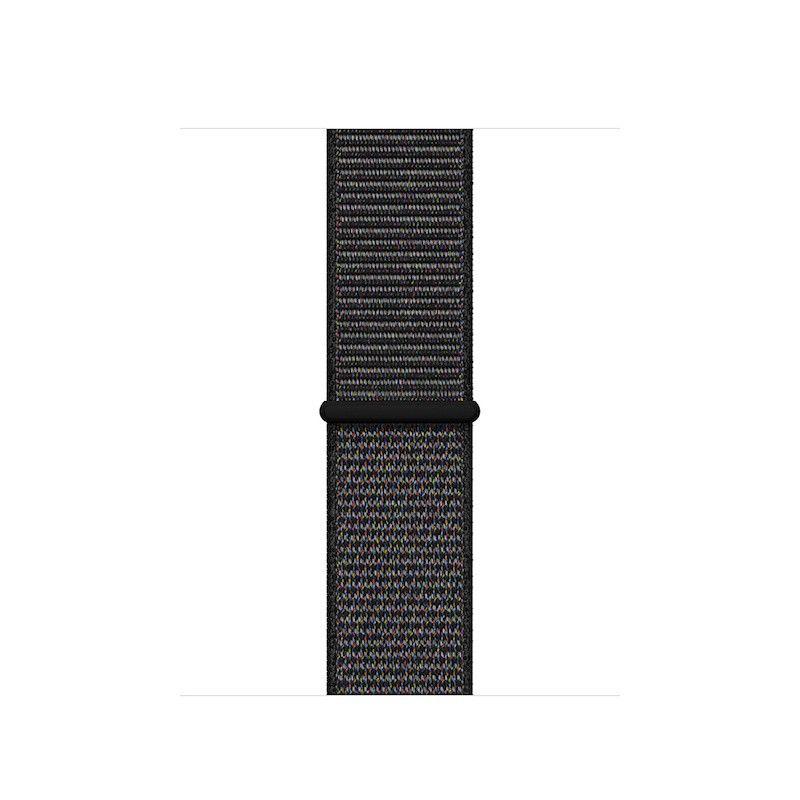 Bracelete Loop desportiva para Apple Watch (40/38 mm) - Preta