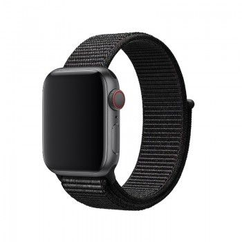 Bracelete Loop desportiva para Apple Watch (40/38 mm) - Preta