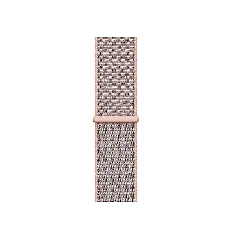 Bracelete Loop desportiva para Apple Watch (40/38 mm) - Rosa-areia