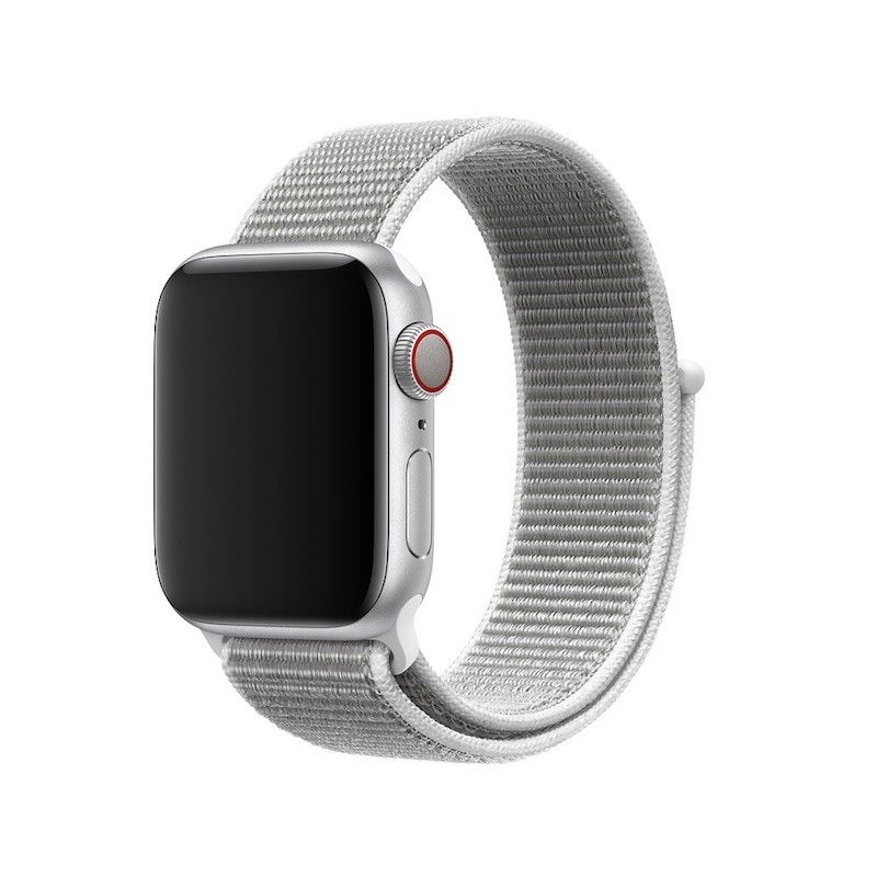 Bracelete desportiva Loop para Apple Watch (40/38 mm) - Branco-concha