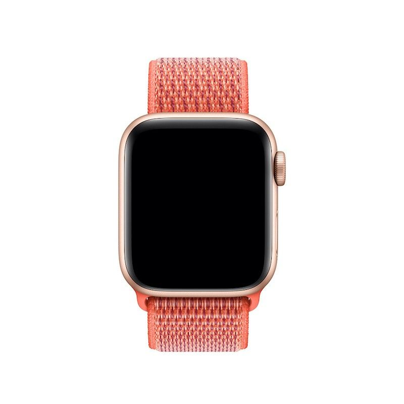 Bracelete Loop desportiva para Apple Watch (40/38 mm) - Nectarina