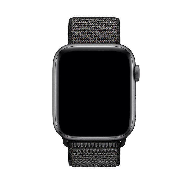 Bracelete desportiva Loop para Apple Watch (44/42 mm) média - Preto