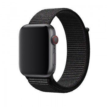 Bracelete desportiva Loop para Apple Watch (44/42 mm) média - Preto