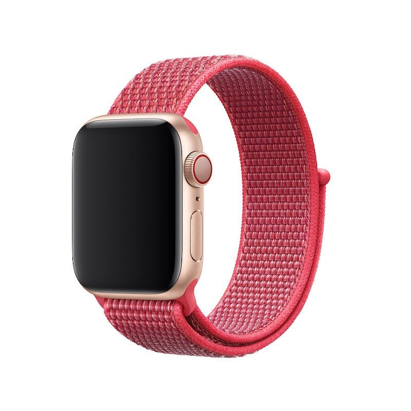 Bracelete desportiva Loop para Apple Watch (40/38 mm) - Hibisco
