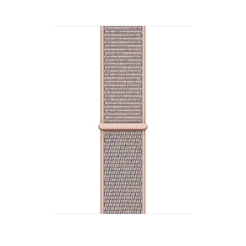 Bracelete desportiva Loop para Apple Watch (44/42 mm) - Rosa-areia