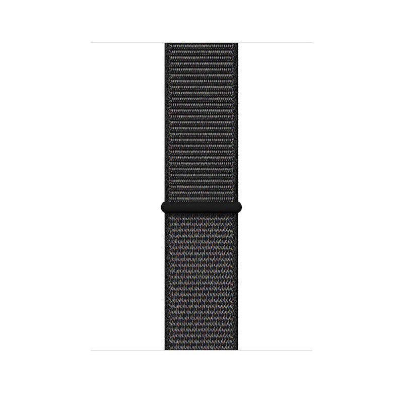 Bracelete Apple Watch Loop desportiva (44/42 mm) grande - Preto