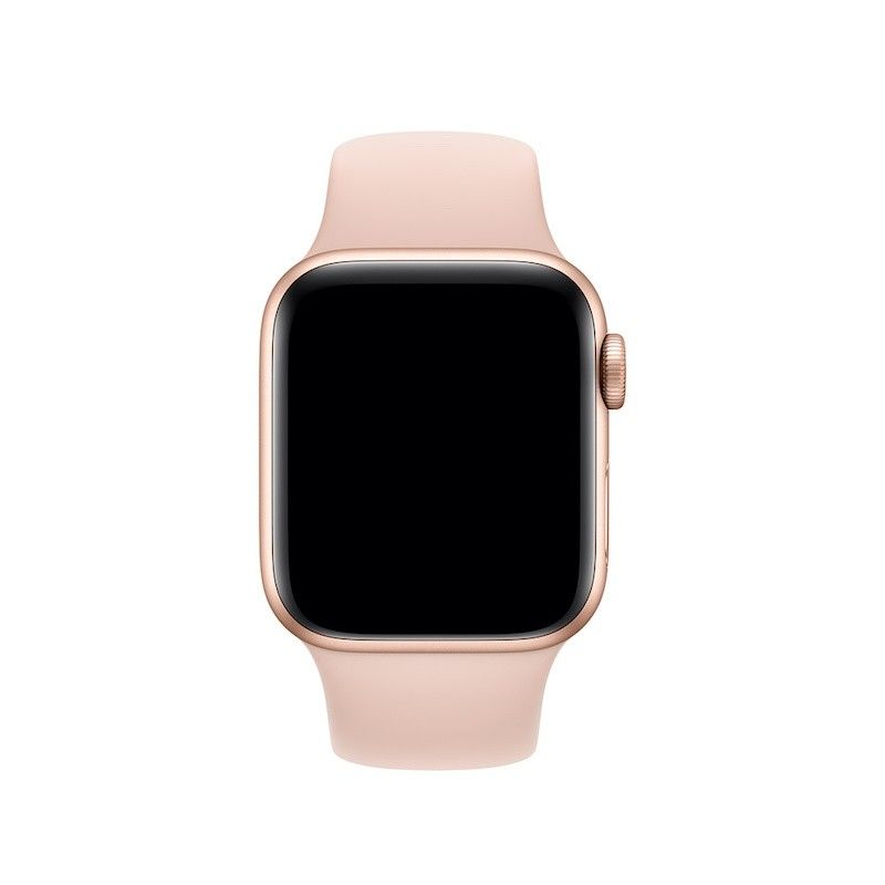 Bracelete desportiva para Apple Watch (40/38 mm) S/M  & M/L - Rosa-areia