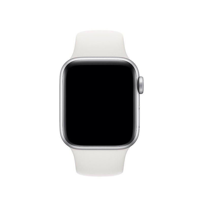 Bracelete desportiva para Apple Watch (40/38 mm) S/M & M/L - Branco