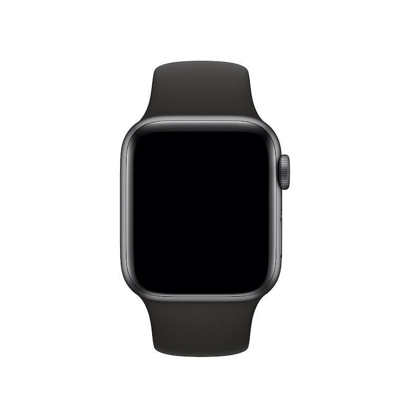 Bracelete desportiva para Apple Watch (40/38 mm) S/M & M/L - Preto