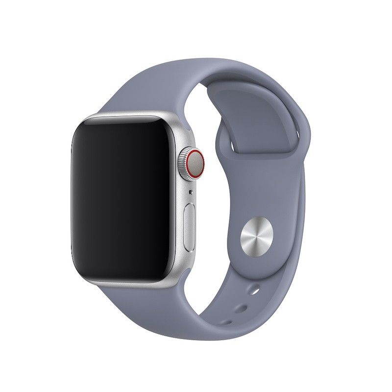 Bracelete desportiva para Apple Watch (40/38 mm) S/M & M/L - Cinzento-lilás