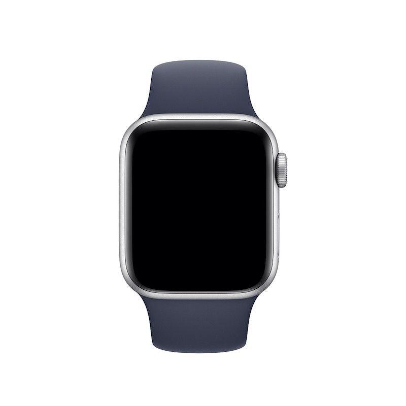 Bracelete desportiva para Apple Watch (40/38 mm) S/M & M/L - Azul meia-noite