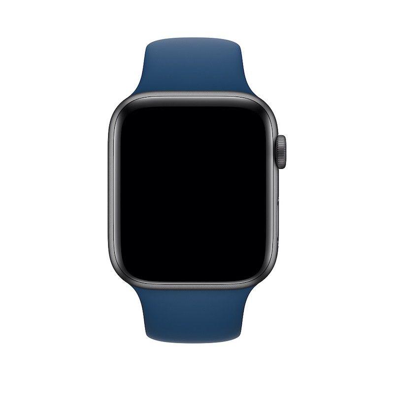 Bracelete desportiva para Apple Watch (44/42 mm) S/M & M/L - Azul-horizonte