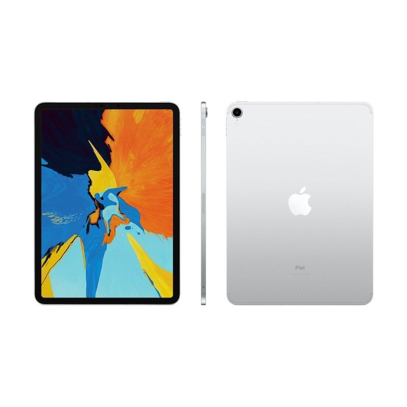 "iPad Pro 11"" Wi-Fi + Cellular 64 GB - Prateado"