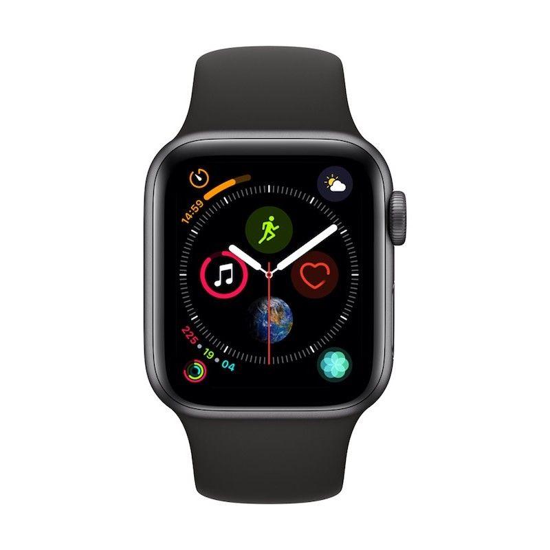 Apple Watch 4 GPS, 40 mm - Cinzento Sideral com bracelete desportiva