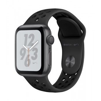 Apple Watch 4 Nike+ GPS, 40 mm - Cinzento sideral bracelete desportiva Nike