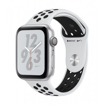 Apple Watch 4 Nike+ GPS, 44 mm - Prateado bracelete desportiva Nike