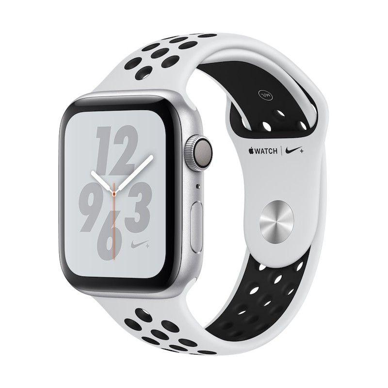 Apple Watch 4 Nike+ GPS, 44 mm - Prateado bracelete desportiva Nike