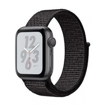 Apple Watch 4 Nike+ GPS, 40 mm - Cinzento sideral bracelete desportiva Loop Nike