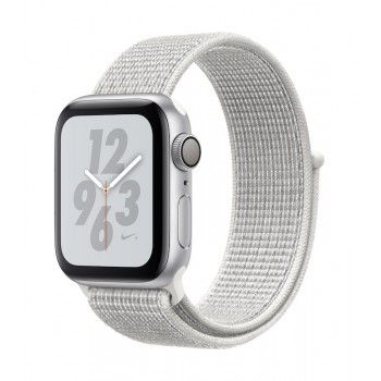 Apple Watch 4 Nike+ GPS, 40 mm - Prateado bracelete desportiva Loop Nike