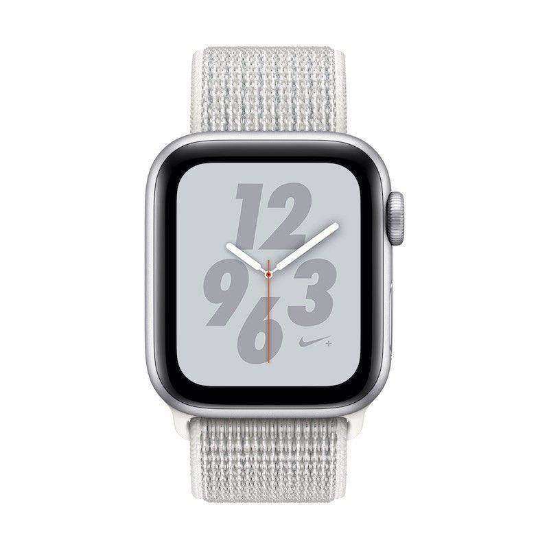 Apple Watch 4 Nike+ GPS, 40 mm - Prateado bracelete desportiva Loop Nike