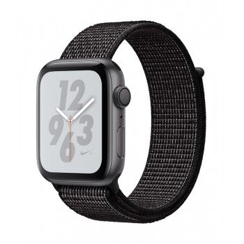 Apple Watch 4 Nike+ GPS, 44 mm - Cinzento sideral bracelete desportiva Loop Nike