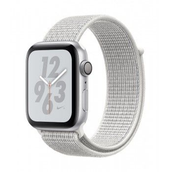 Apple Watch 4 Nike+ GPS, 44 mm - Prateado bracelete desportiva Loop Nike