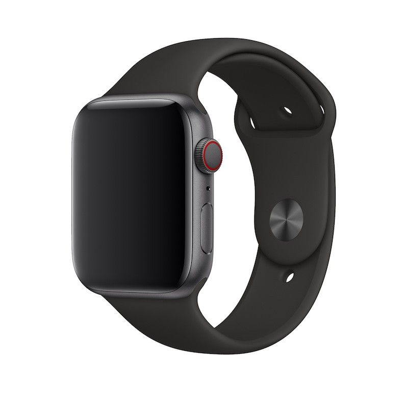 Bracelete desportiva para Apple Watch (44/42 mm) M/L & X/L - Preto