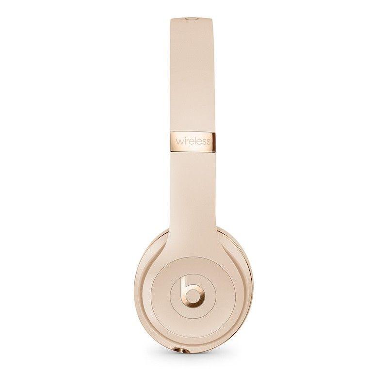 Auscultadores Beats Solo3 Wireless by Dr. Dre - Dourado cetim