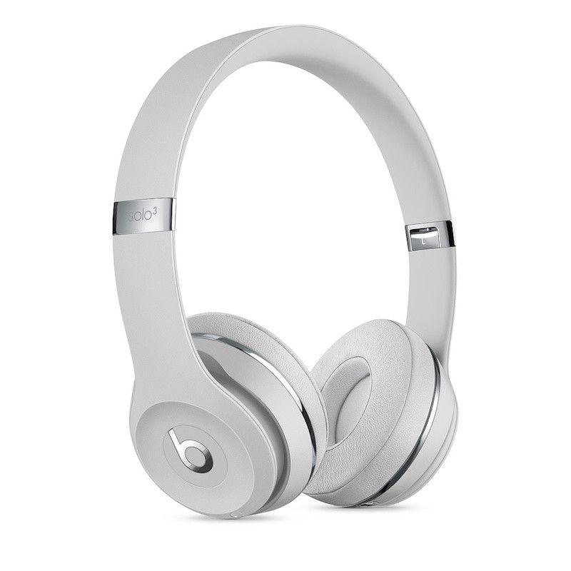 Auscultadores Beats Solo3 Wireless by Dr. Dre - Prateado cetim