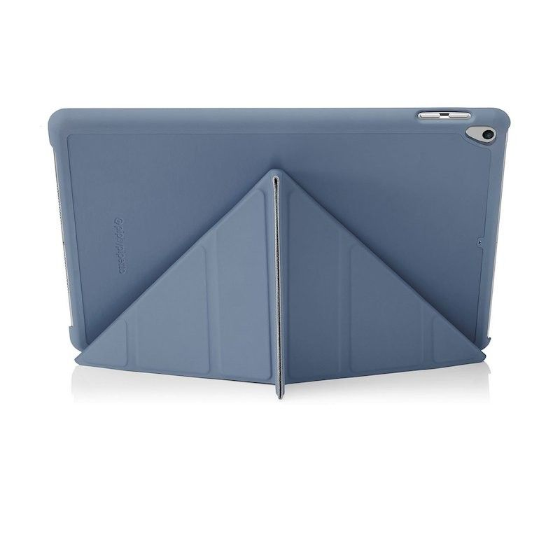 Capa Pipetto Origami iPad 2018/7/Air 1 - Navy