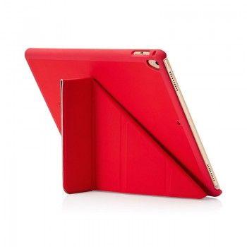 Capa Pipetto Origami iPad 9,7 (2017/8/Air 1) - Vermelho