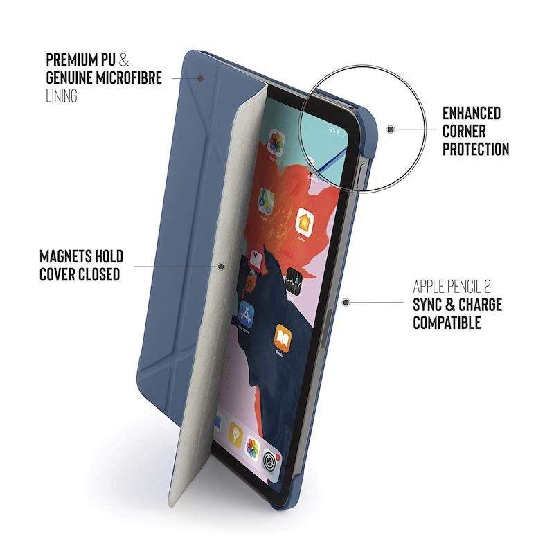 Capa para iPad Pro 11 Pipetto Origami - Azul Navy