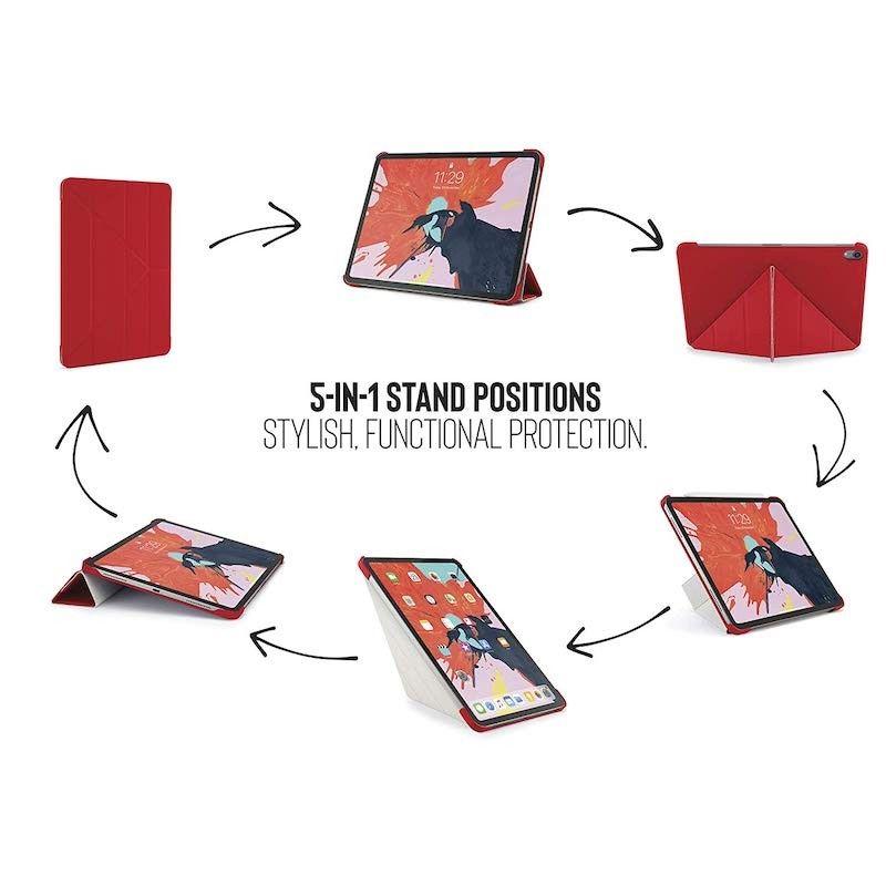 Capa para iPad Pro 11 Pipetto Origami - Vermelho
