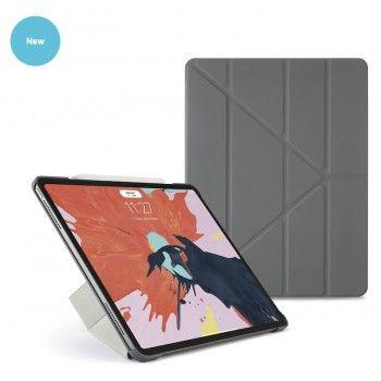 Capa para iPad Pro 12,9 (2018) Pipetto Origami - Cinza escuro